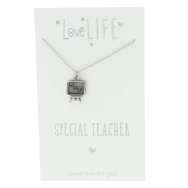 Widdop Gifts Jewellery Special Teacher Lovely Necklace