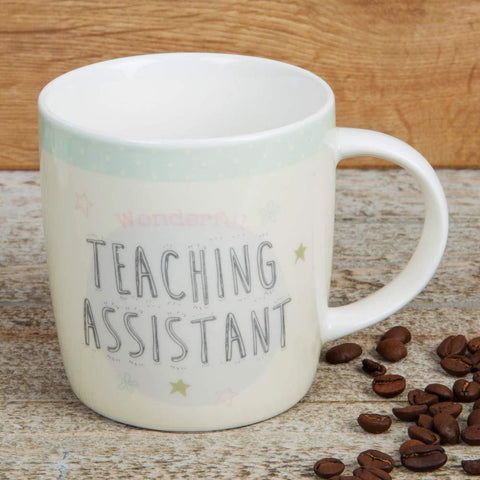 Widdop Gifts Mugs & Drinkware Ceramic Gift Mug for A Teaching Assistant