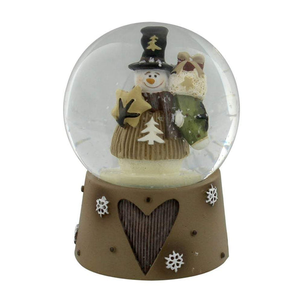 Widdop Gifts Snow Globes, Christmas Decorations Mini Snowman Snow Globe
