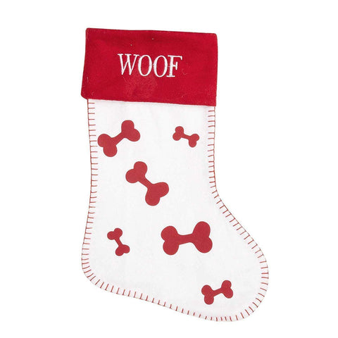 Widdop Gifts Stockings Woof Christmas Stocking for Dogs