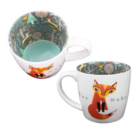 WPL Mugs & Drinkware For Fox Sake Novelty Mug