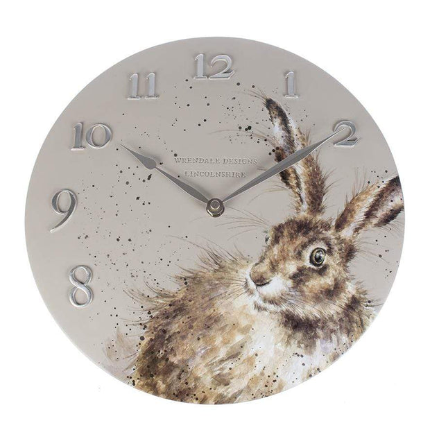 Wrendale Designs Clock Hare Wall Clock