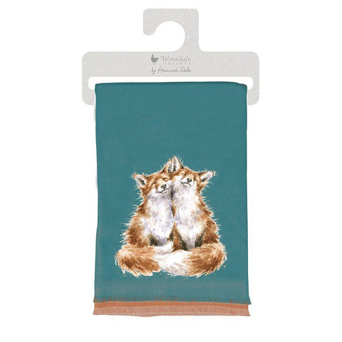 Wrendale Designs Scarves Contentment Winter Scarf In Gift Bag