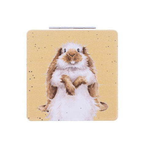 Wrendale Designs Compact Mirrors Copy of Illustrated Llama Compact Mirror