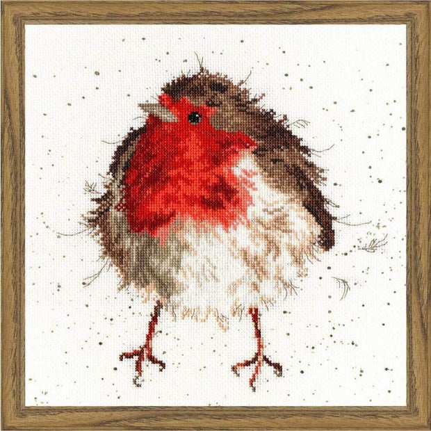 Wrendale Designs Craft Sets Jolly Robin Choice of Design Cross Stitch Kits