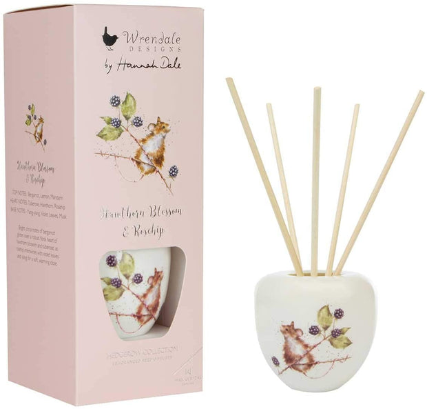 Wrendale Designs Candles & Diffusers Hawthorn Blossom & Rosehip Fragranced Reed Diffuser