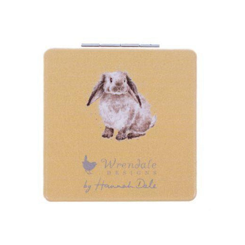 Wrendale Designs Compact Mirrors Illustrated Rabbit Compact Mirror