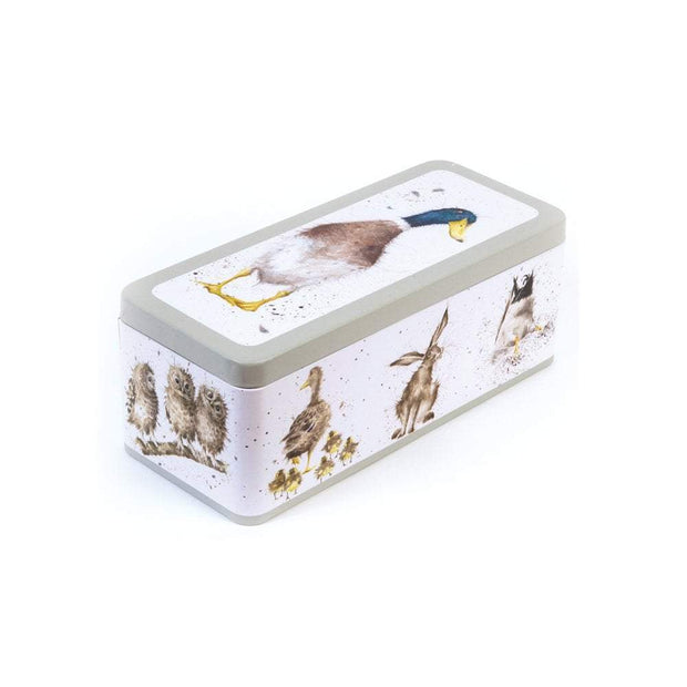 Wrendale Designs Jugs Illustrated Duck Cracker Storage Tin