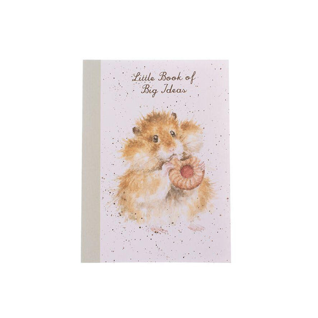 Wrendale Designs Notebooks A6 Little Book of Big Ideas Notebook - Hamster