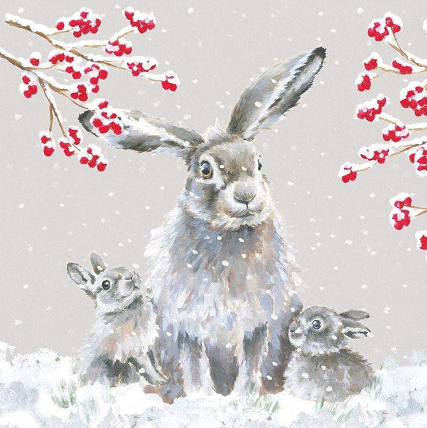 Wrendale Designs christmas cards Snowfall Luxury Christmas Cards