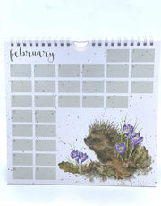 Wrendale Designs Calendars The Country Set Birthday Calendar