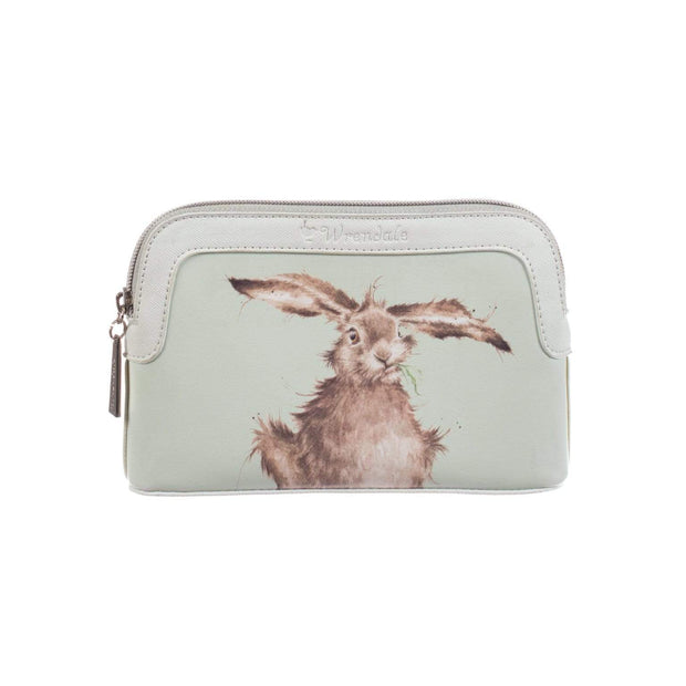 Wrendale Designs Wash & Make Up Bags Hare Design Small Cosmetic Bag