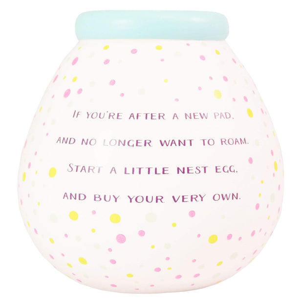 Xpressions Money Boxes Pot Of Dreams New Home Fund Breakable Money Pot