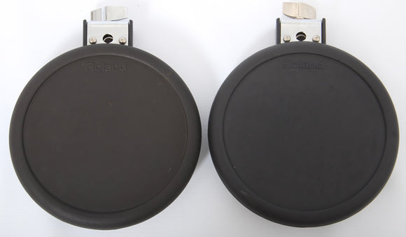2x Roland PD-8 Dual Trigger Electronic Snare or Tom Drum Pads