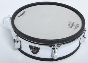 "Roland PD-125 WHITE 12"" Dual Trigger Mesh Electronic Drum Pad For Electric Kit"