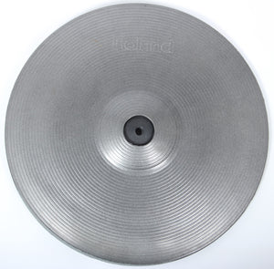 "Roland CY-14C MG 14"" Grey Electronic Dual Trigger / Zone Crash Cymbal 4"