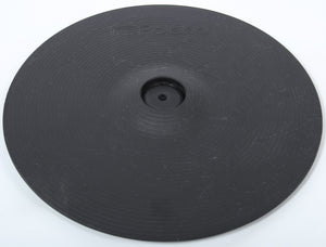 "Roland CY-12C 12"" Latest Model Black Electronic Dual Trigger/Zone Crash Cymbal 2"