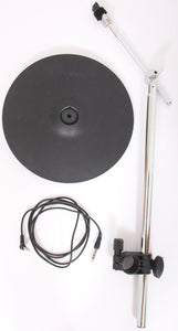 "Roland CY-12C 12"" Electronic Dual Zone Crash Cymbal + BOOM & CLAMP & LEAD"