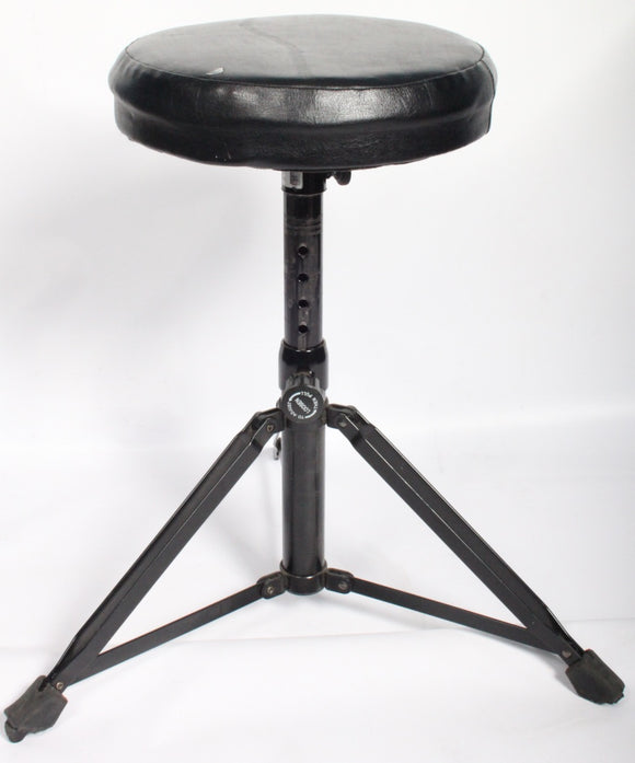 Drum Throne/Stool Double Braced Sturdy Round Top Three Leg Seat For Drum Kit