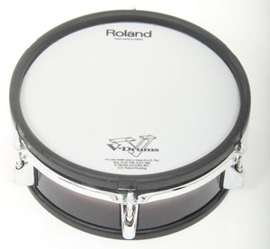 "Roland PD-105BK 10"" Dual Zone/Trigger Mesh Electronic Drum Pad Electric Kit 1"