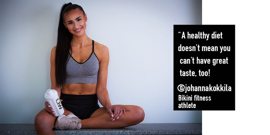 Ambassador Interview: Johanna Kokkila - Bikini Fitness Athlete