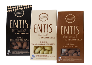 Entis cricket chocolate packages