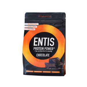 Entis cricket protein powder package