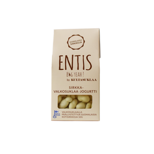 Entis cricket with white chocolate and yoghurt package