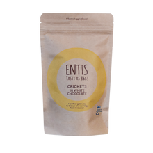 Load image into Gallery viewer, Try Entis White Cricket Chocolate for FREE