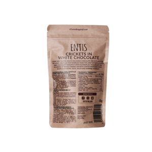Try Entis White Cricket Chocolate for FREE