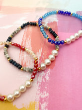 Load image into Gallery viewer, Pearls elastic bracelet