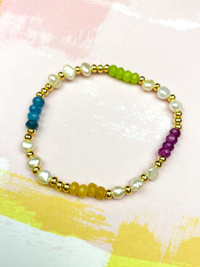 Minimalist Colorful Bracelet