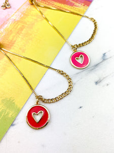Colorful Heart Bracelet