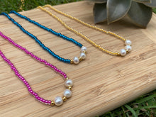 Load image into Gallery viewer, Colorful Pearls (Blue, Pink, Yellow)