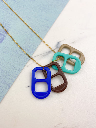 Chapitas (4 necklaces in 1)