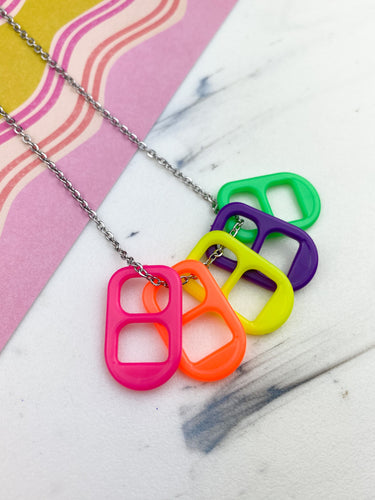 Chapitas (5 necklaces in 1)