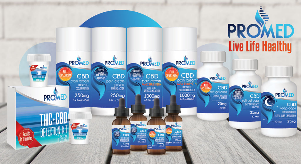 Promed CBD Review & Coupons