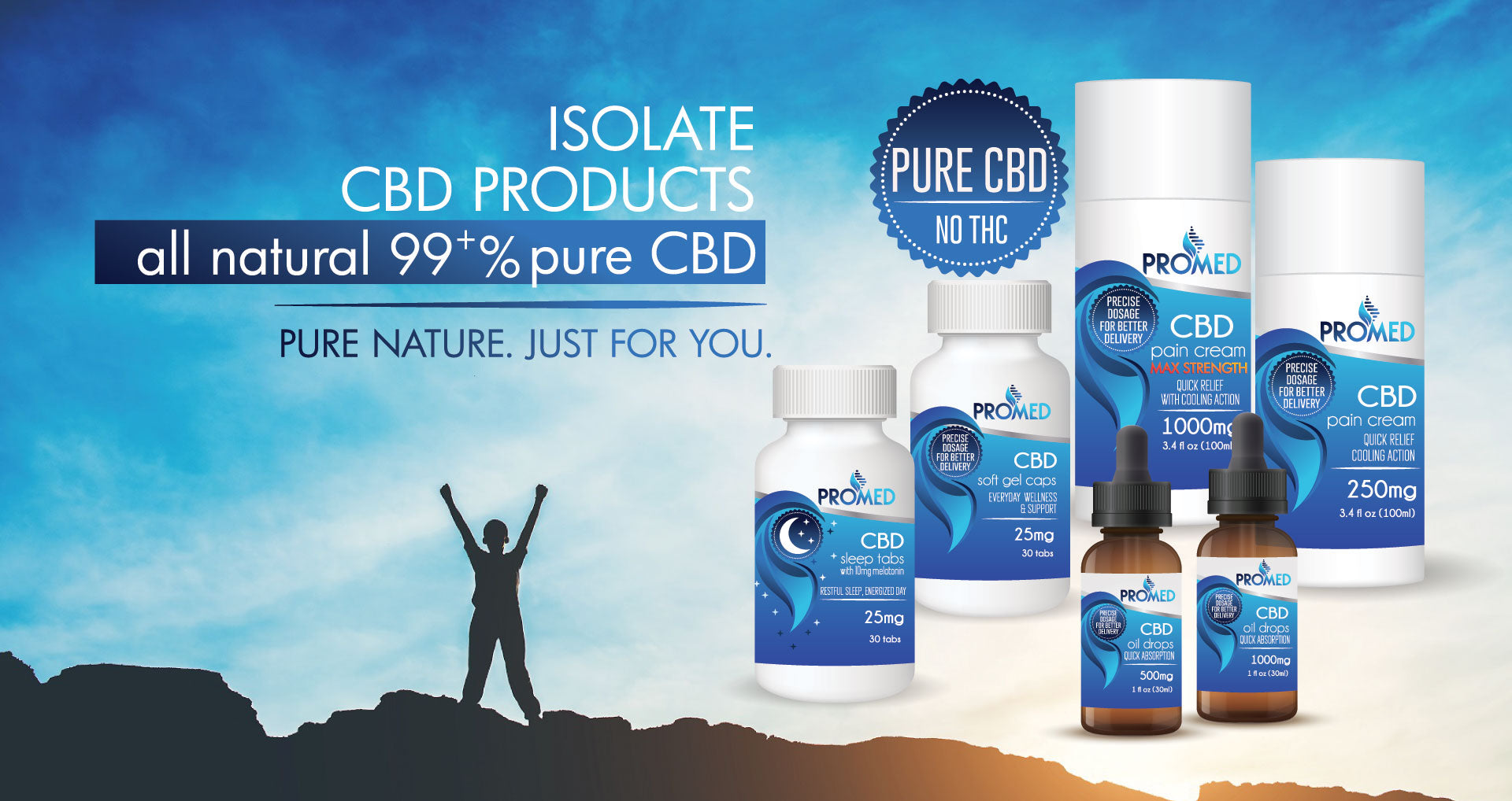 promed cbd isolate product