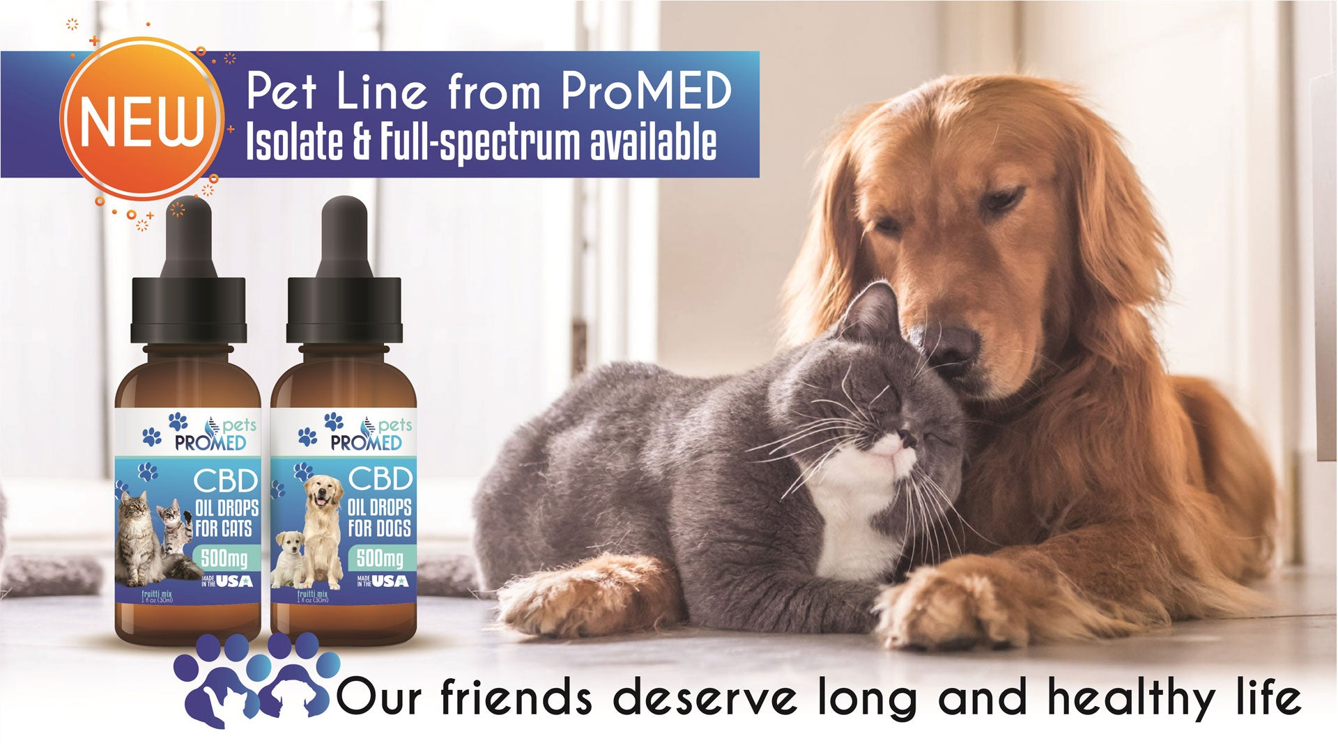 promed cbd pet isolate full spectrum