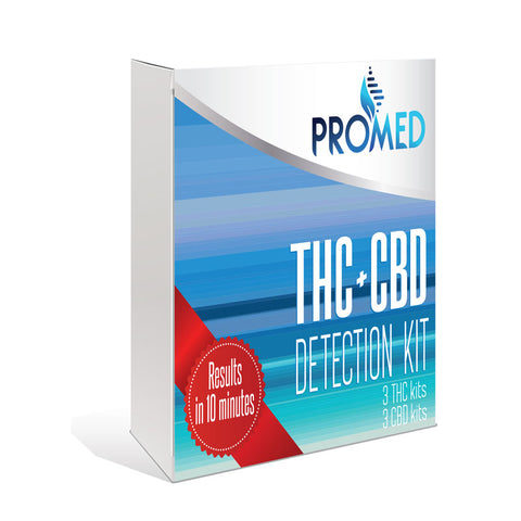 THC + CBD Detection Kit - ProMED CBD