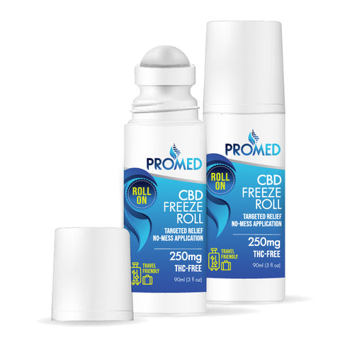 CBD Topical Roll-On Freeze Cream 250mg