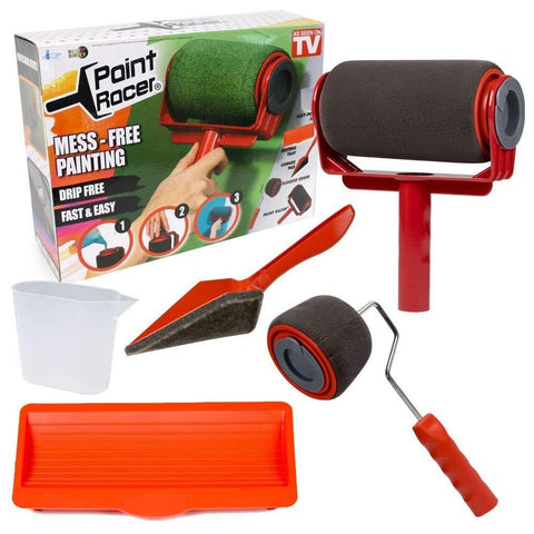 Premium Paint Runner Pro - Paint Racer Time Saver Paint Roller - TheShinyStore
