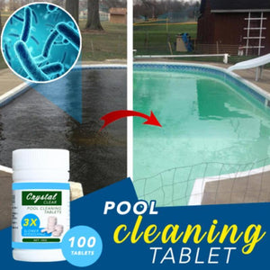 Pool Sanitizing Tablet - Pool Cleaning