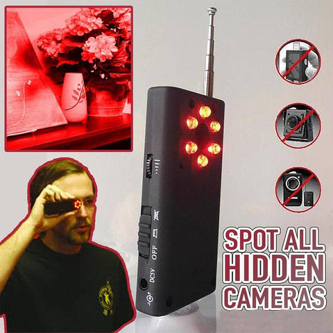 Hidden Camera Detector - The Best Bug Detector - TheShinyStore