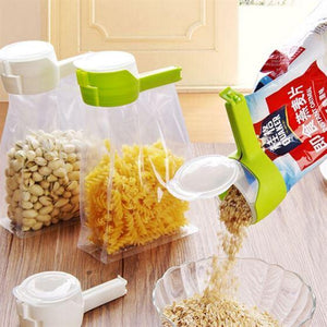 Bag Clip Seal Pour Food Storage Bag Clip - TheShinyStore