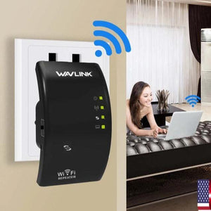 Wireless 300Mbps WiFi Range Extender - Signal Booster And Repeater - TheShinyStore