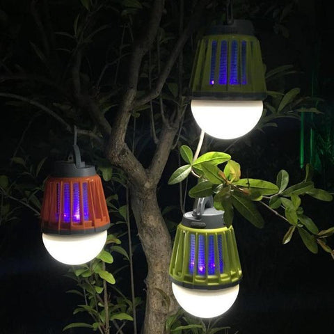 Wireless Waterproof Mosquito Killer Lantern Lamp For Yard - TheShinyStore