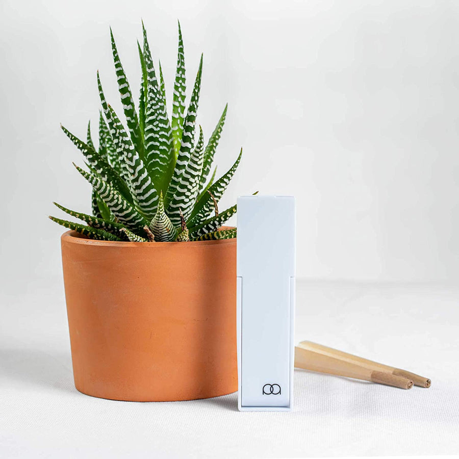 JPAQ Duo - The #1 Ultra-Sleek Joint Holder, Crush-Proof Blunt Holder, Doob Tube, and Cigarette Case, Holds 2 King Size Prerolls, Portable, Compact, Convenient Weed Accessories - White