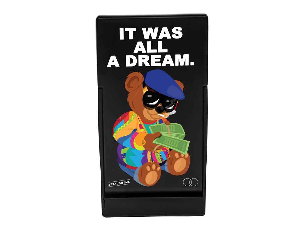 JPAQ | Biggie Bear | World's Most Innovative Preroll Case
