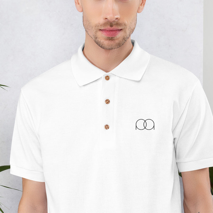 Mens PAQ Embroidered Polo Shirt